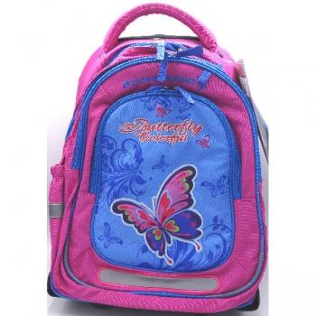 Boomerang Ortho School Bags Large Trolley Pink