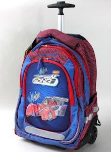 Boomerang Ortho Bags Lrg Trolley B/Pack Royal Car