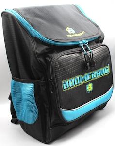 Boomerang School Bags Lrg Division Black