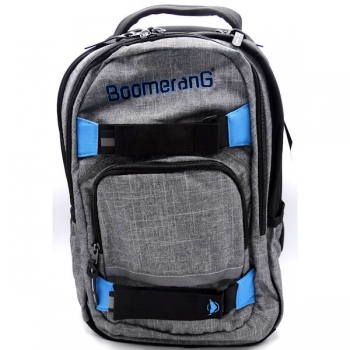 Boomerang School Bags Orthopedic Backpack Grey