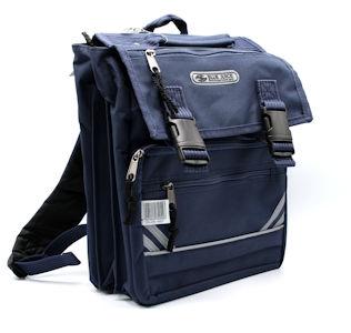 Blue Juice School Bags Jnr Drawstring 3 Divisions