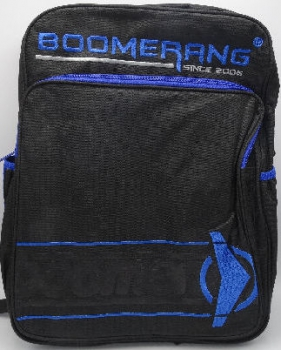 Boomerang School Bags Large Division Black