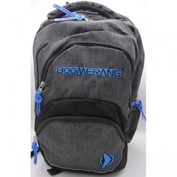 Boomerang Orthopedic School Bags Large Cyan