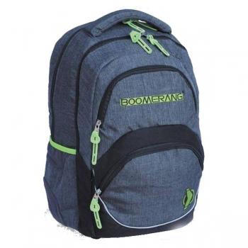 Boomerang Orthopedic School Bags Large Lime