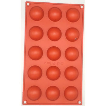 Silicone Moulds Sphere 40x20mm