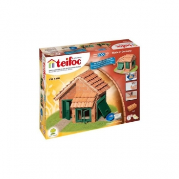 Teifoc House With Tiles (Approx 200 Parts)
