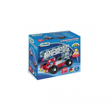 Eitech Red Fire Truck (Approx 180 Parts)