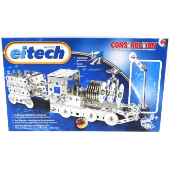 Eitech Train with Trailer (Approx 180 Parts)