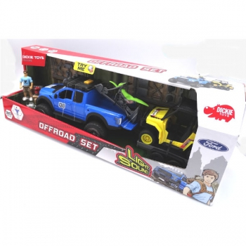 Dickie Toys Playlife Offroad Set 38cm