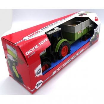 Dickie Toys Claas Tractor and Trailer 36cm