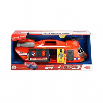 Dickie Toys Giant Rescue Helicopter 56cm