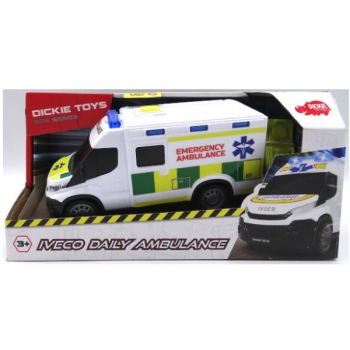 Dickie Toys Iveco Daily Ambulance  18cm