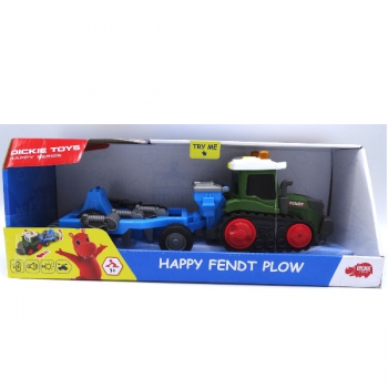 Dickie Toys Happy Fendt Plow 30cm