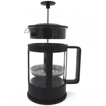 Regent Coffee Plunger Black 6Cup 600ml