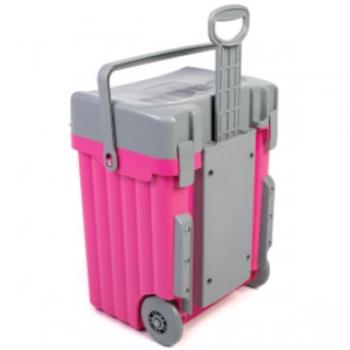 Cadii School Bags Pink Grey