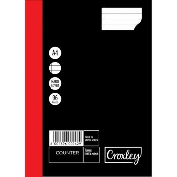 Croxley Counter Book 96 Pg JD160