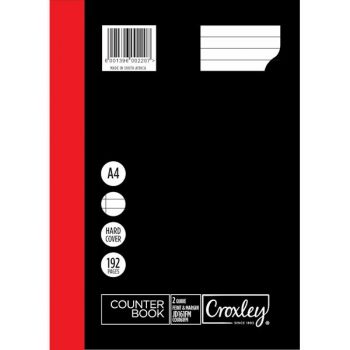 Croxley Counter Book 192 Pg JD161
