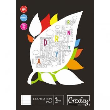 Croxley Examination Pad 100 Sheets JD581
