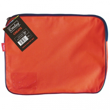 Croxley Canvas Gusset Book Bag Each Red