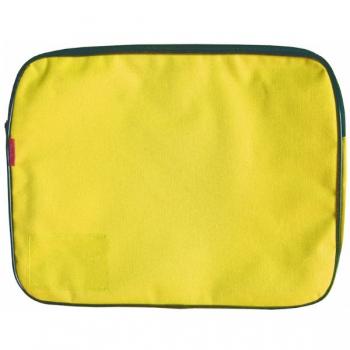 Croxley Canvas Gusset Book Bag Each Yellow
