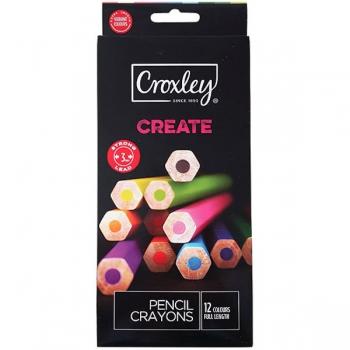 Croxley CREATE 12 Pencil Crayons