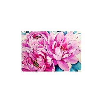 Diamond Dot Painting Pink and Blue 45x30