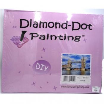 Diamond Dot Painting Tower Bridge 50x40