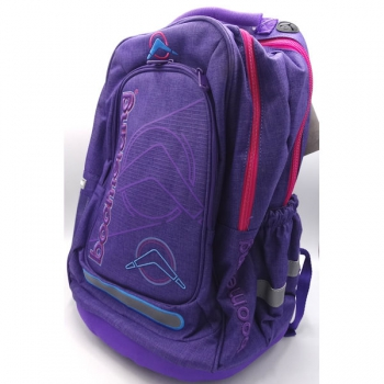Boomerang School Bags Large Orthopaedic Purple
