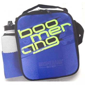 Boomerang School Bags Cooler Lunchbox Blue Blue