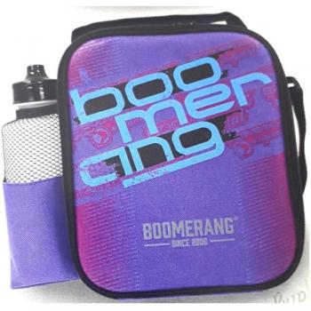 Boomerang School Bags Cooler Lunchbox Purple