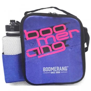 Boomerang School Bags Cooler Lunchbox Blue Green