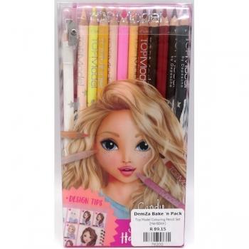 Top Model Colouring Pencil Set (Hair&Skin)