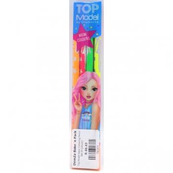 Top Model Neon Colouring Pencil Set (4 Colours)