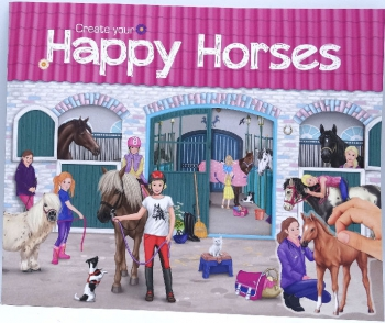 Top Model Create Your Happy Horses Books