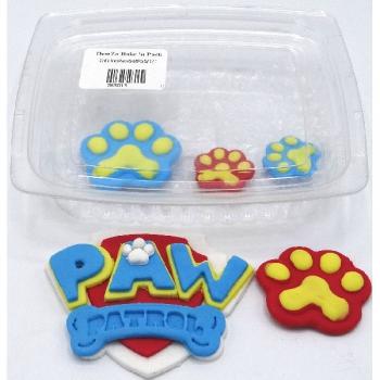 Plastic Icing Paw Set
