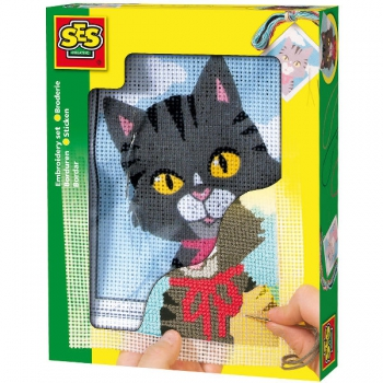 SES Toys Embroidery Cat