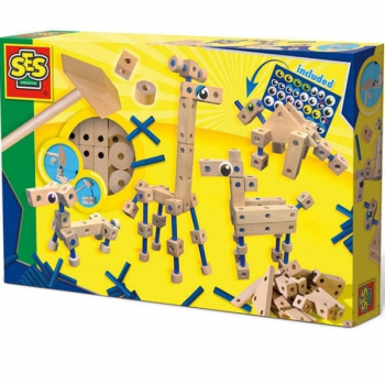 SES Toys Carpentry Playset Animals