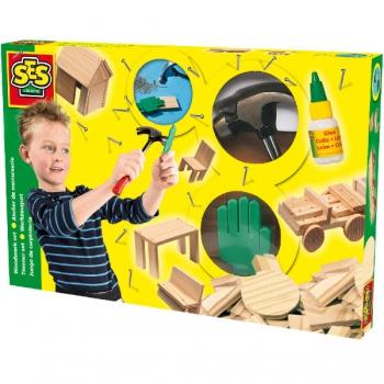SES Toys Woodwork Set