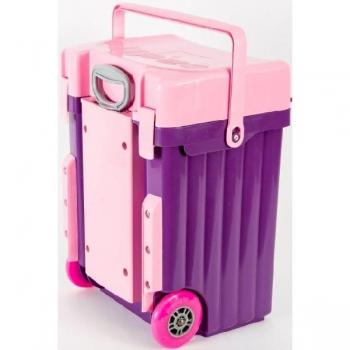 Cadii School Bags Purple Pink