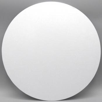 13 Inch Round White Masonite Cake Board (1)