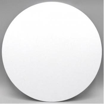 11 Inch Round White Masonite Cake Board (1)