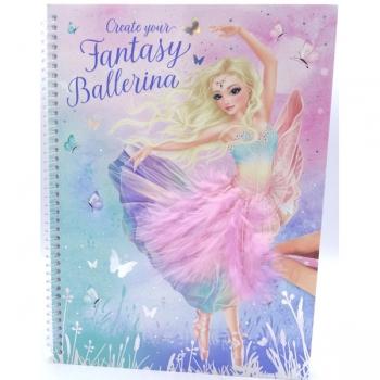 Top Model Ballerina Fantasy Model Colour Book