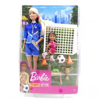 Barbie Soccer Coach Doll Asstd