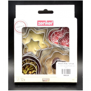 Zenker Cookie Cutters 12 Piece
