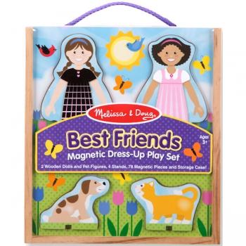 Melissa & Doug Best Friends Magnetic Dress-Up