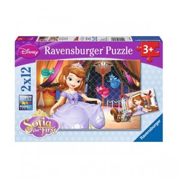 Ravenburger Puzzles Sophias Adventures 2x24Pce