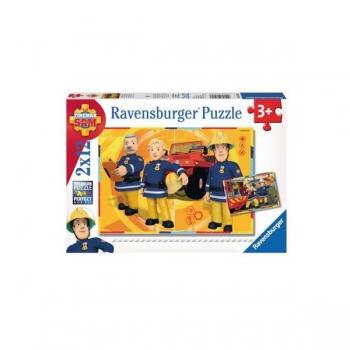 Ravenburger Puzzles Sam in Action 2x12Pce