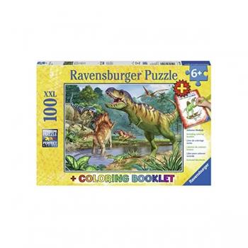 Ravenburger Puzzles World of Dinosaurs 100/200Pce