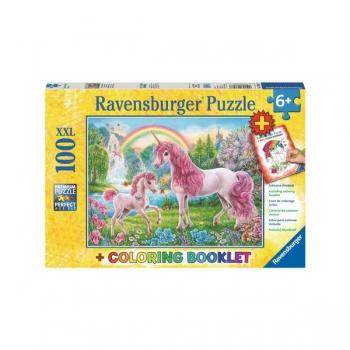 Ravenburger Puzzles Magical Unicorns 100/200Pce