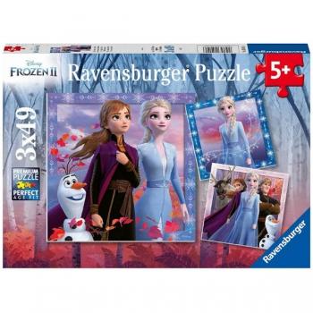 Ravenburger Puzzles The Journey Starts 3x49Pce